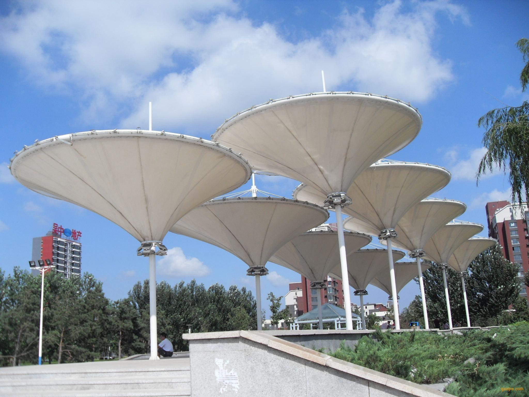 景观张拉膜结构工程